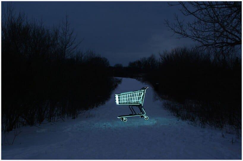molly-v-dierks-neon-shopping-cart-1
