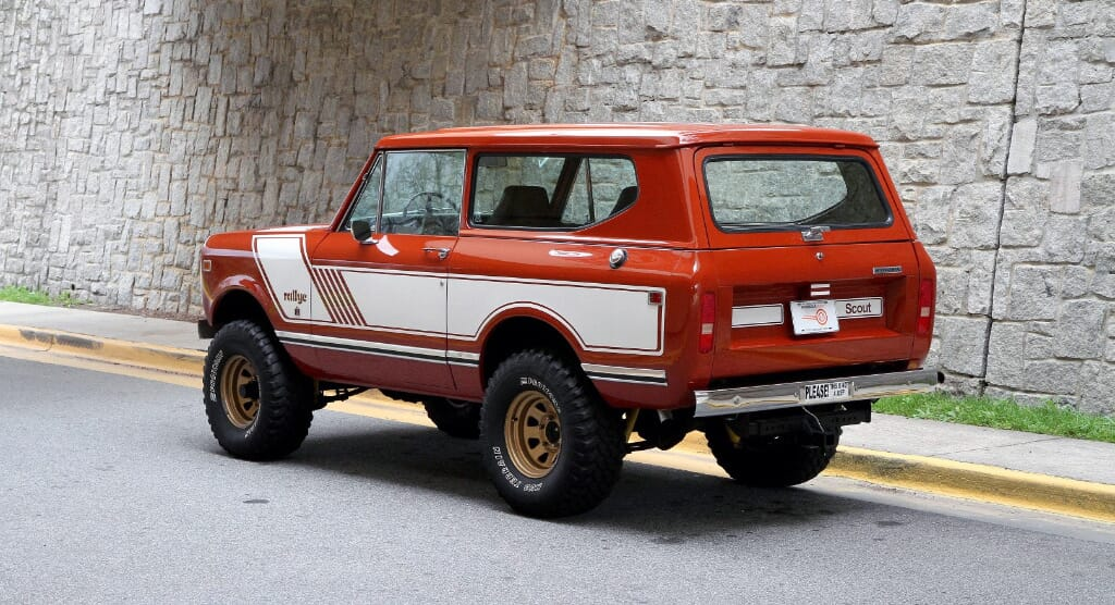 Motorcar Studio is Offering Up an Incredibly Special International Scout II Rallye