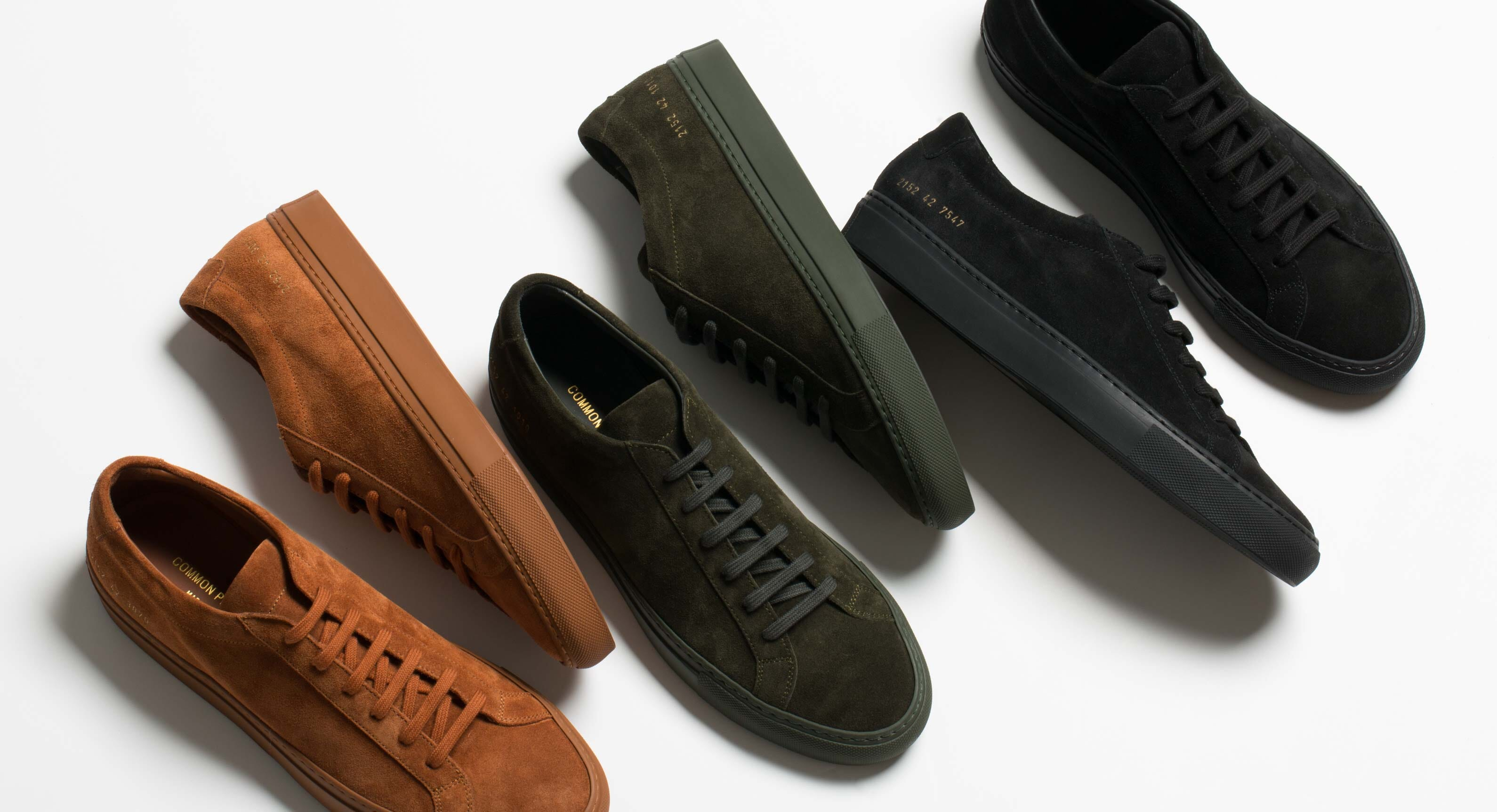 Common Projects Sneaker Sizing Guide