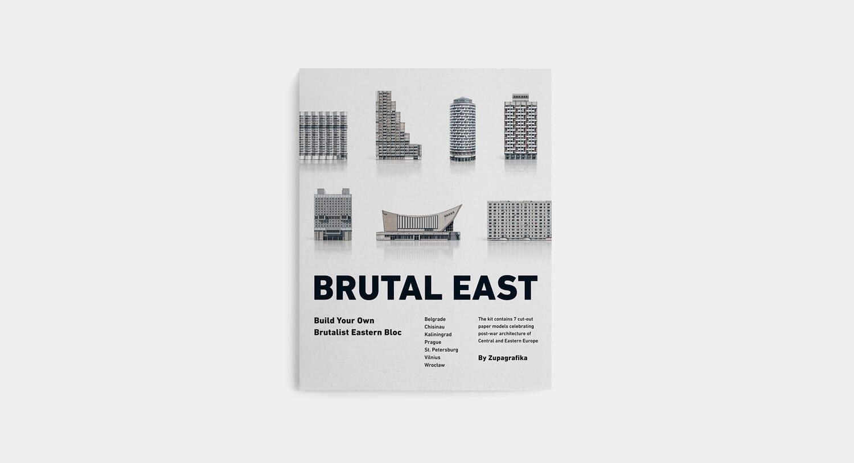 Zupagrafika Recreate the Brutalist, Post-War Architecture of Europe