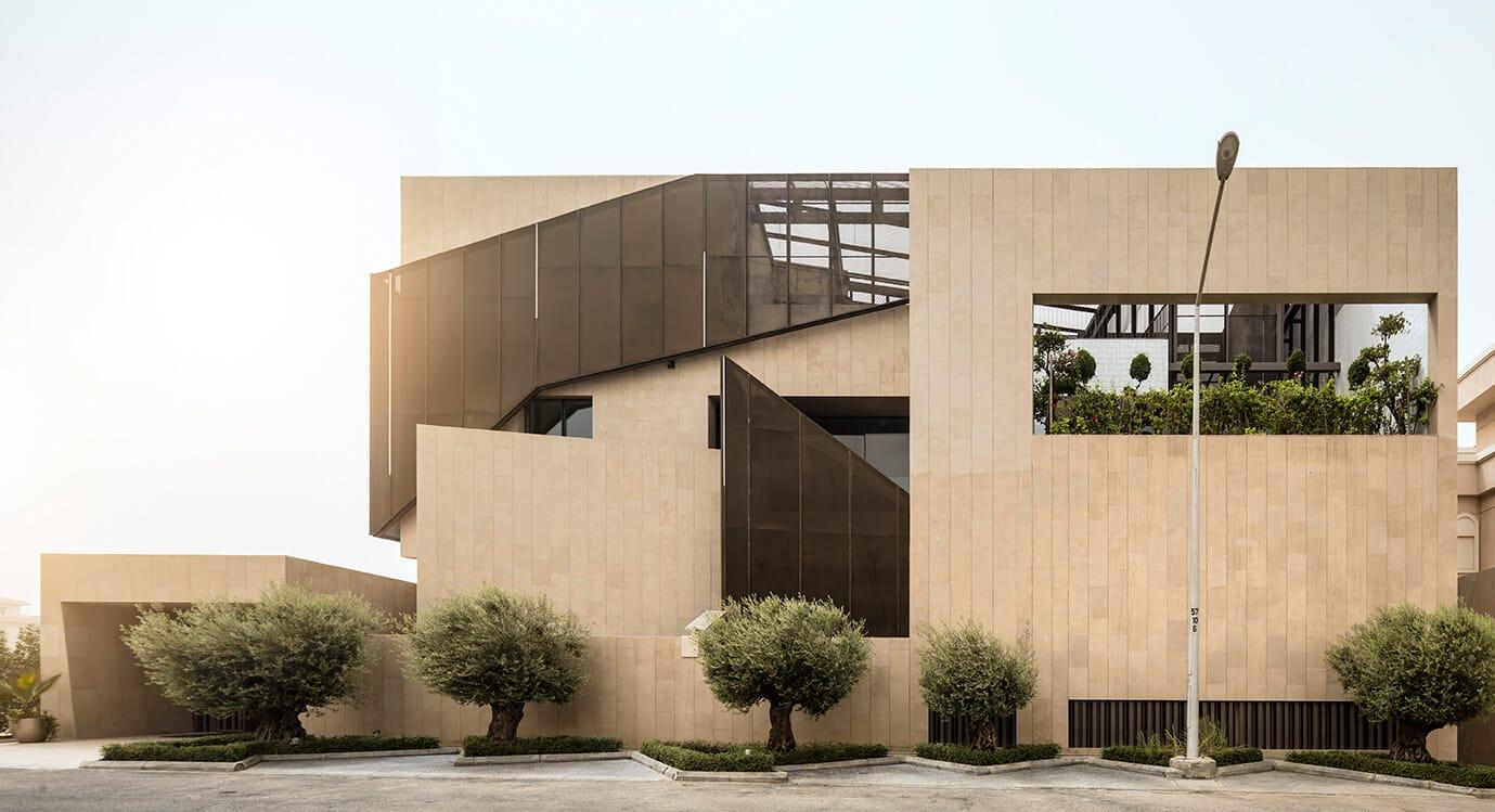 The Three Gardens House by AGi Architects