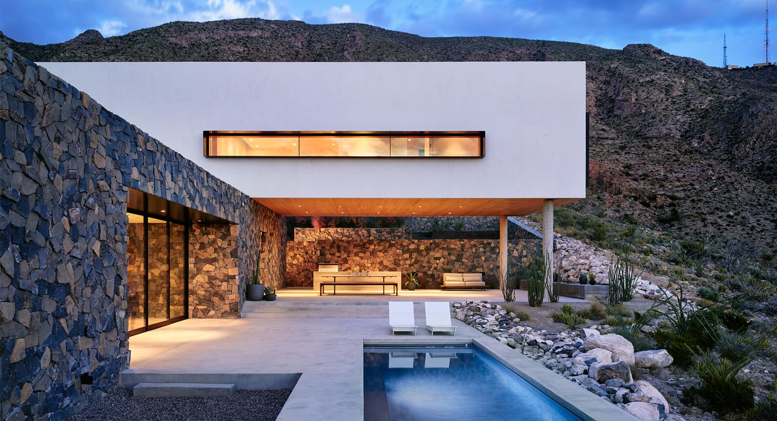Hazelbaker Rush Unveils a Home in the Rocky Wilderness