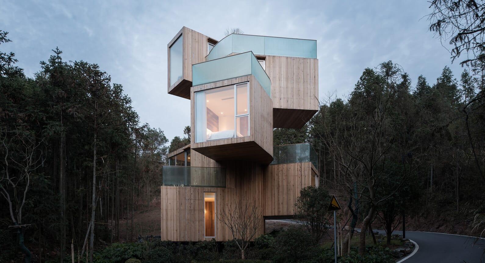 Take a Look Inside Bengo Studio's Towering Tree House