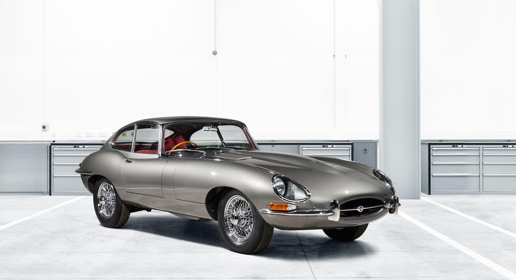 Jaguar Is Bringing Back 10 'Reborn' E-Types
