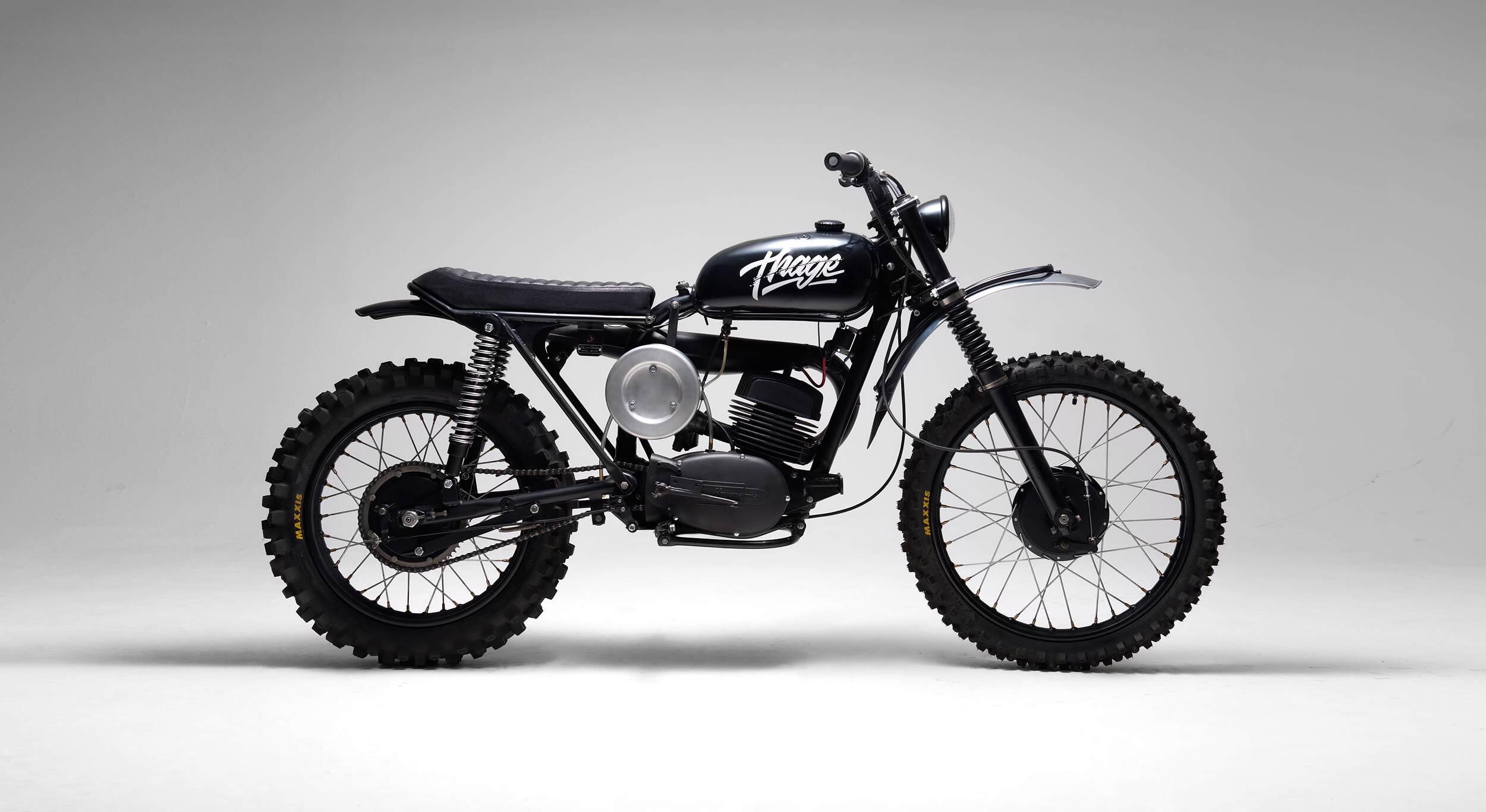 The Husqvarna 256 Thage Motorcycle