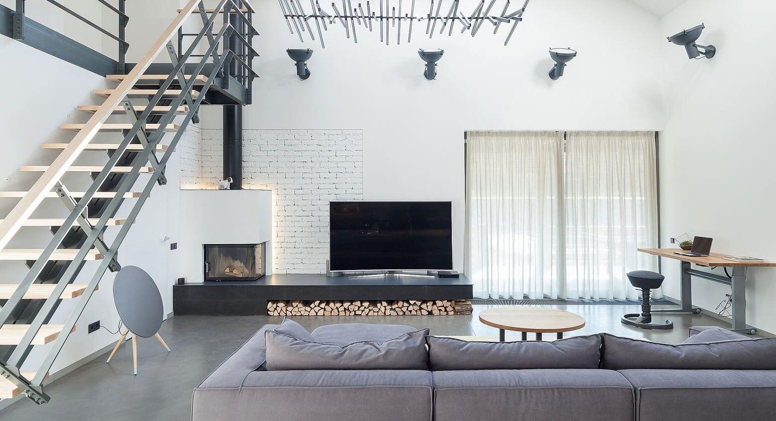 A Modern Suburban Home That Focuses on Minimalism