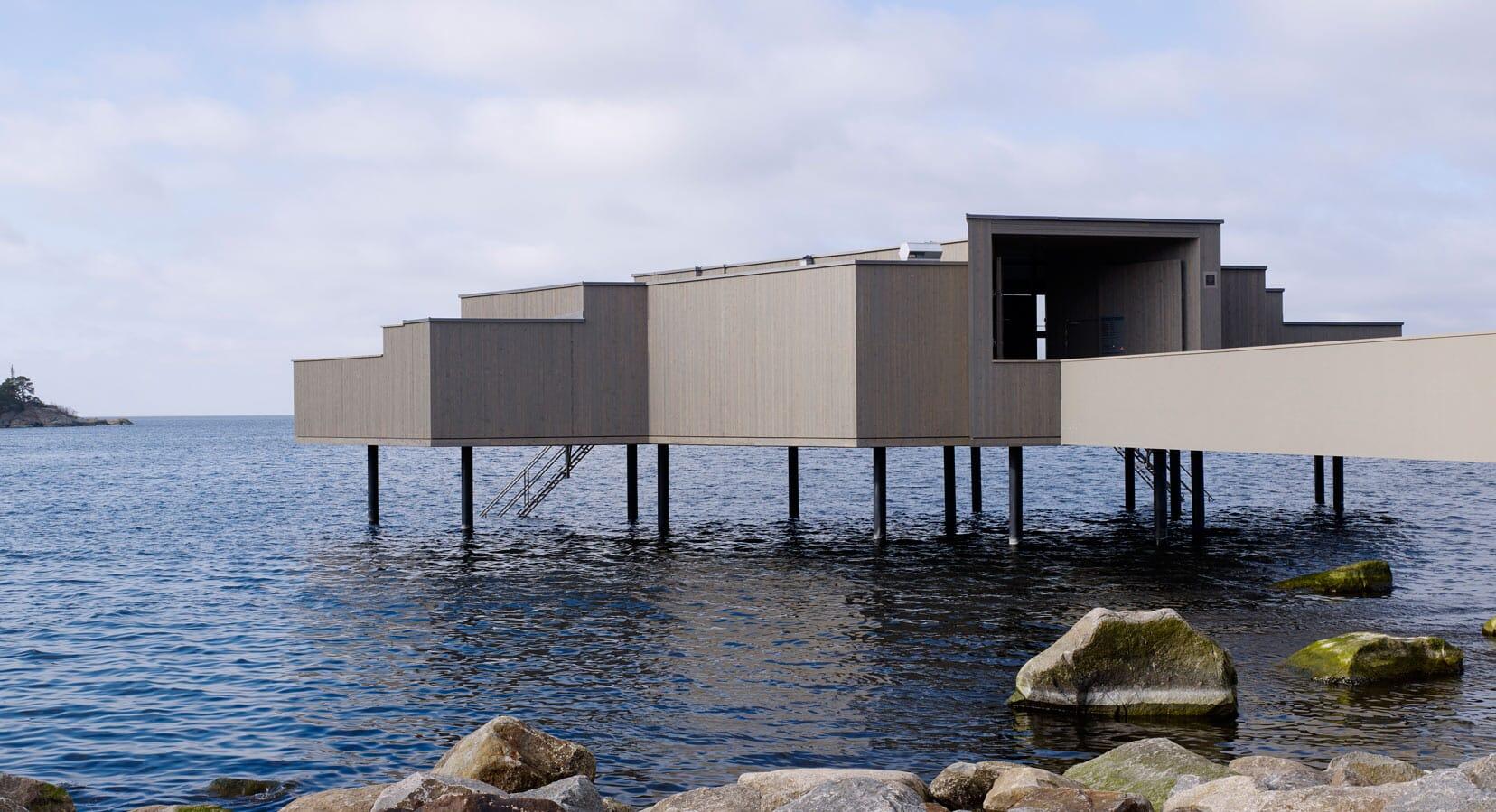 White Arkitekter Reinterpret The Traditional Swedish Bath House