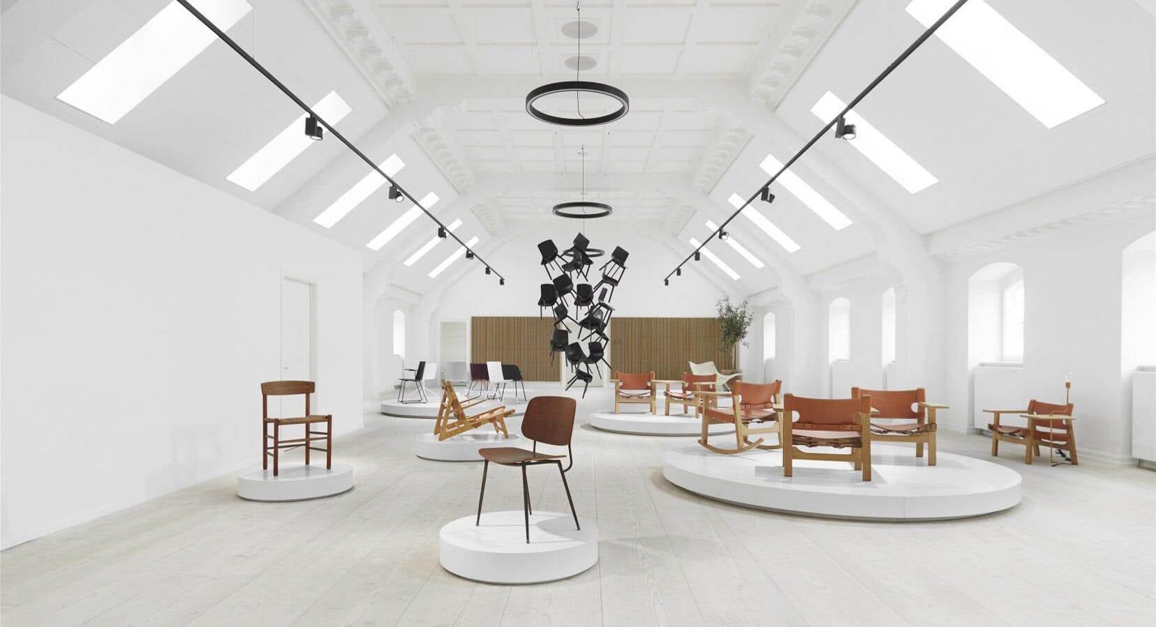 Fredericia Opens Spectacular New Rooftop 'Living Showroom' in Copenhagen