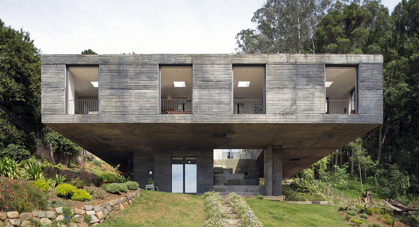 Balance Of Beauty: The Guna House by Pezo von Ellrichshausen