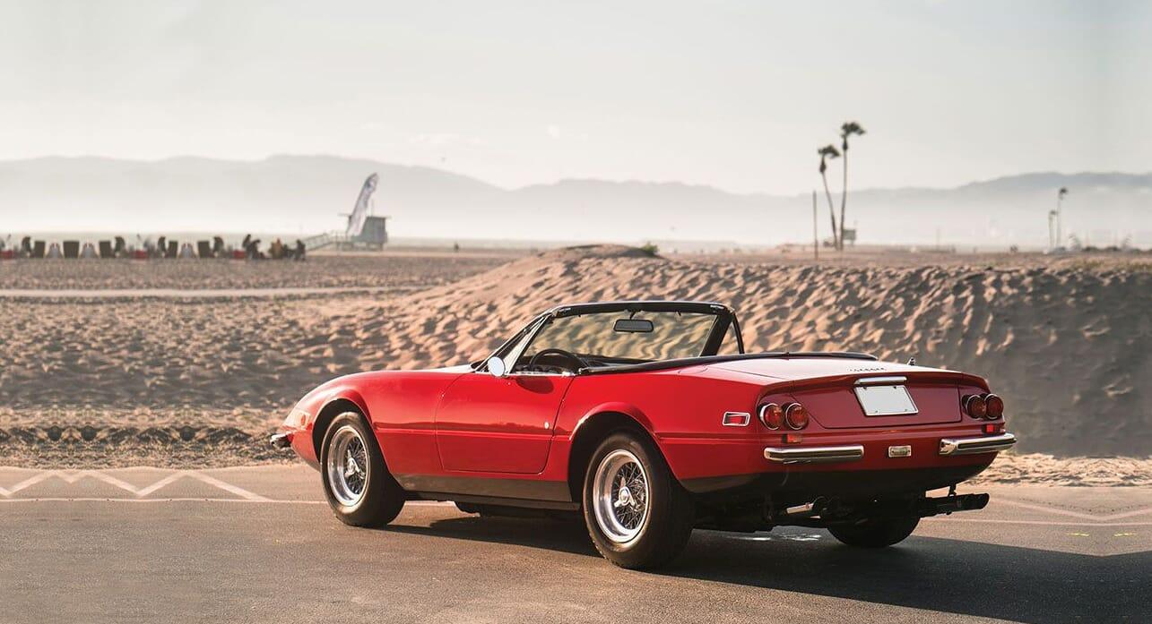 Classic Car Find Of The Week 1972 Ferrari 365 Gtb 4 Daytona Spider Opumo Magazine