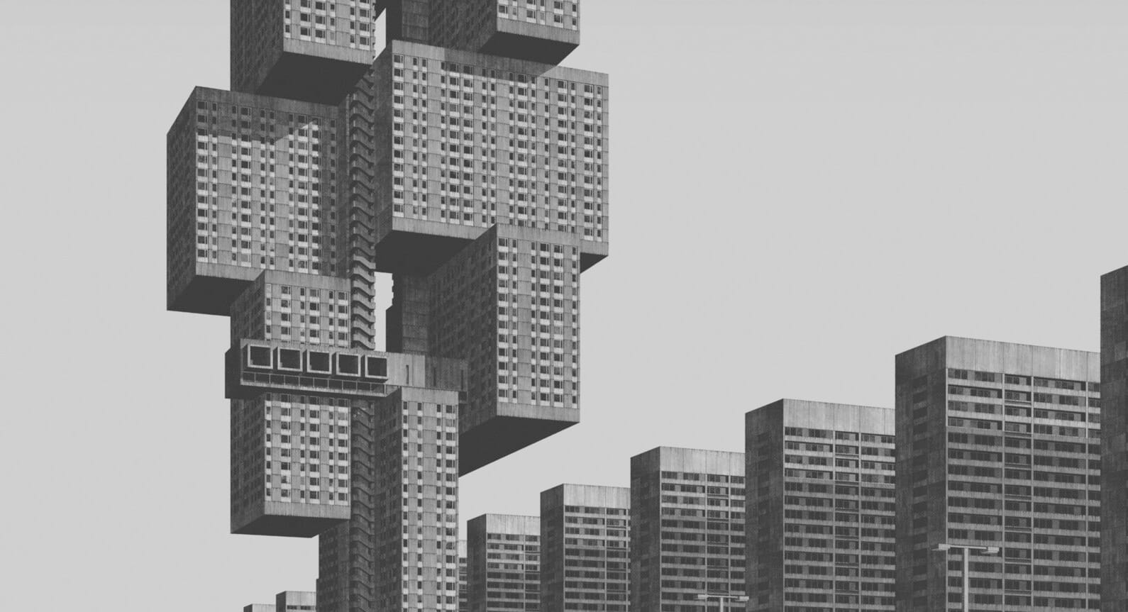 20th Century Urban Utopias from Clemens Gritl