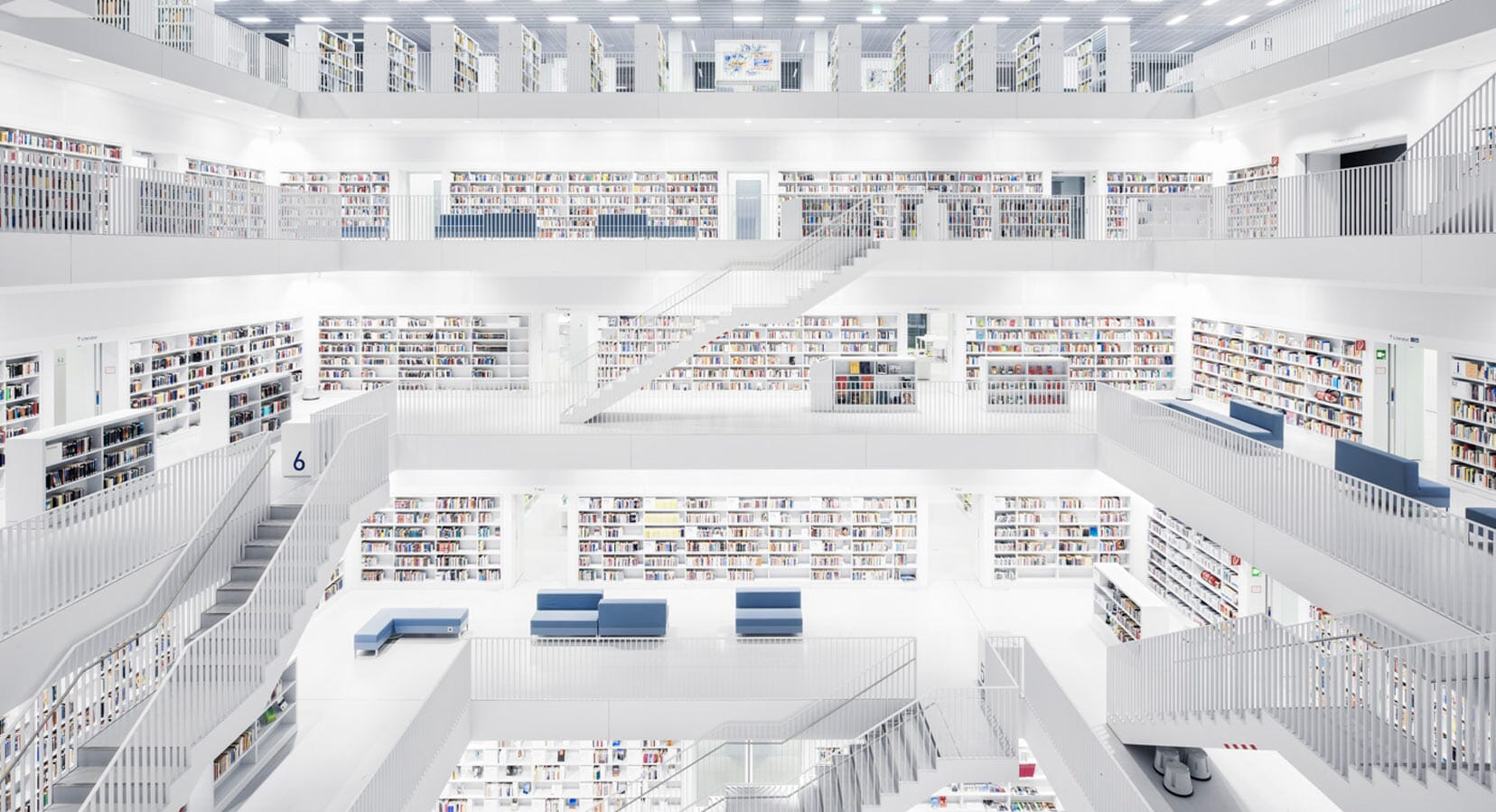 A Look Inside Europe's Most Spectacular Libraries With Photographer Thibaud Poirier