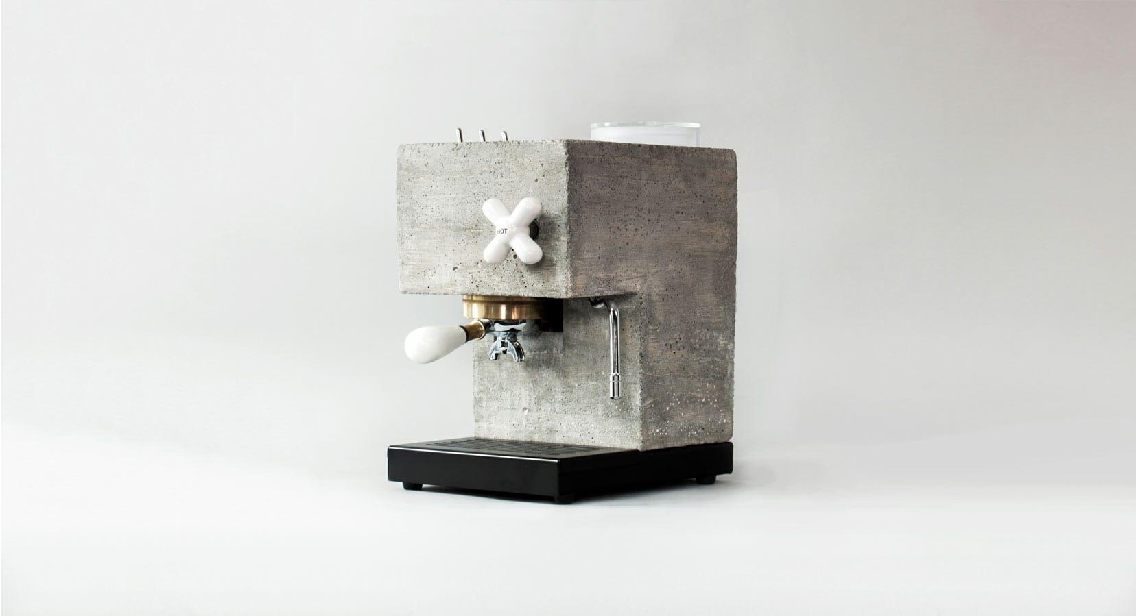 Introducing The Anza Concrete Espresso Machine