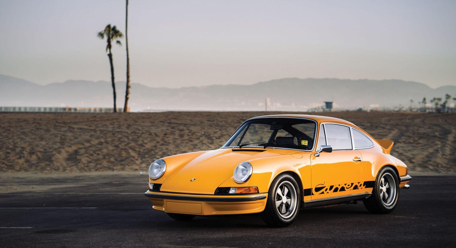 Classic Car Find of the Week: 1973 Porsche 911 Carrera RS