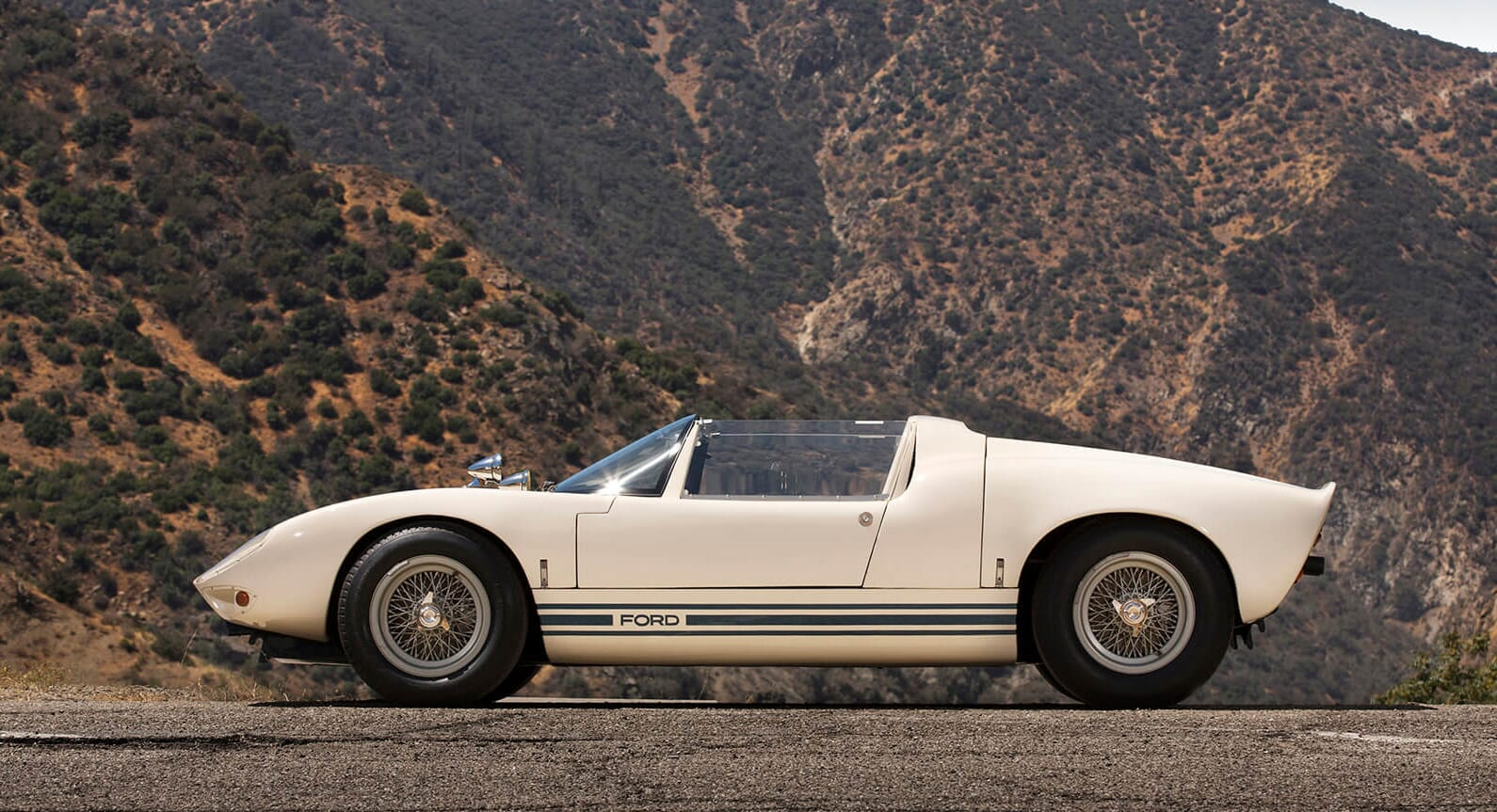 The Last Surviving Ford GT40 Roadster Prototype Needs A New Owner