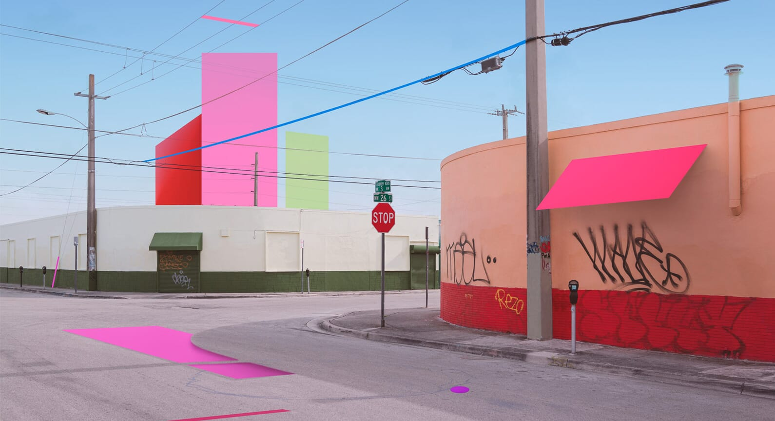 Get Lost In The 'Constructed' Neon Dreamscapes Of Pawel Nolbert