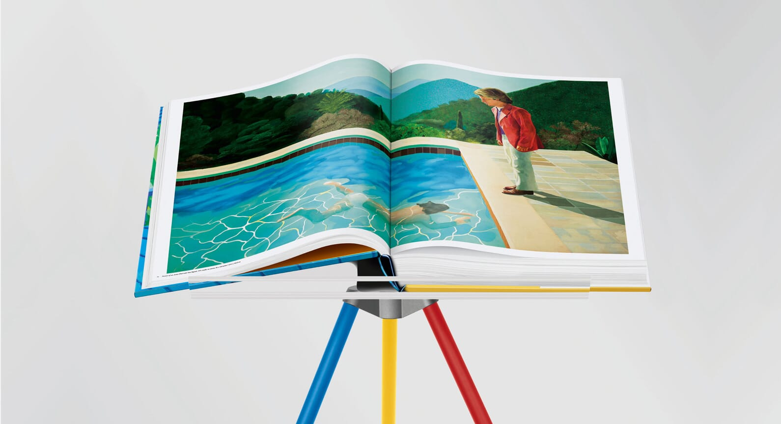 Delve Into David Hockney's Oeuvre With 'A Bigger Book'