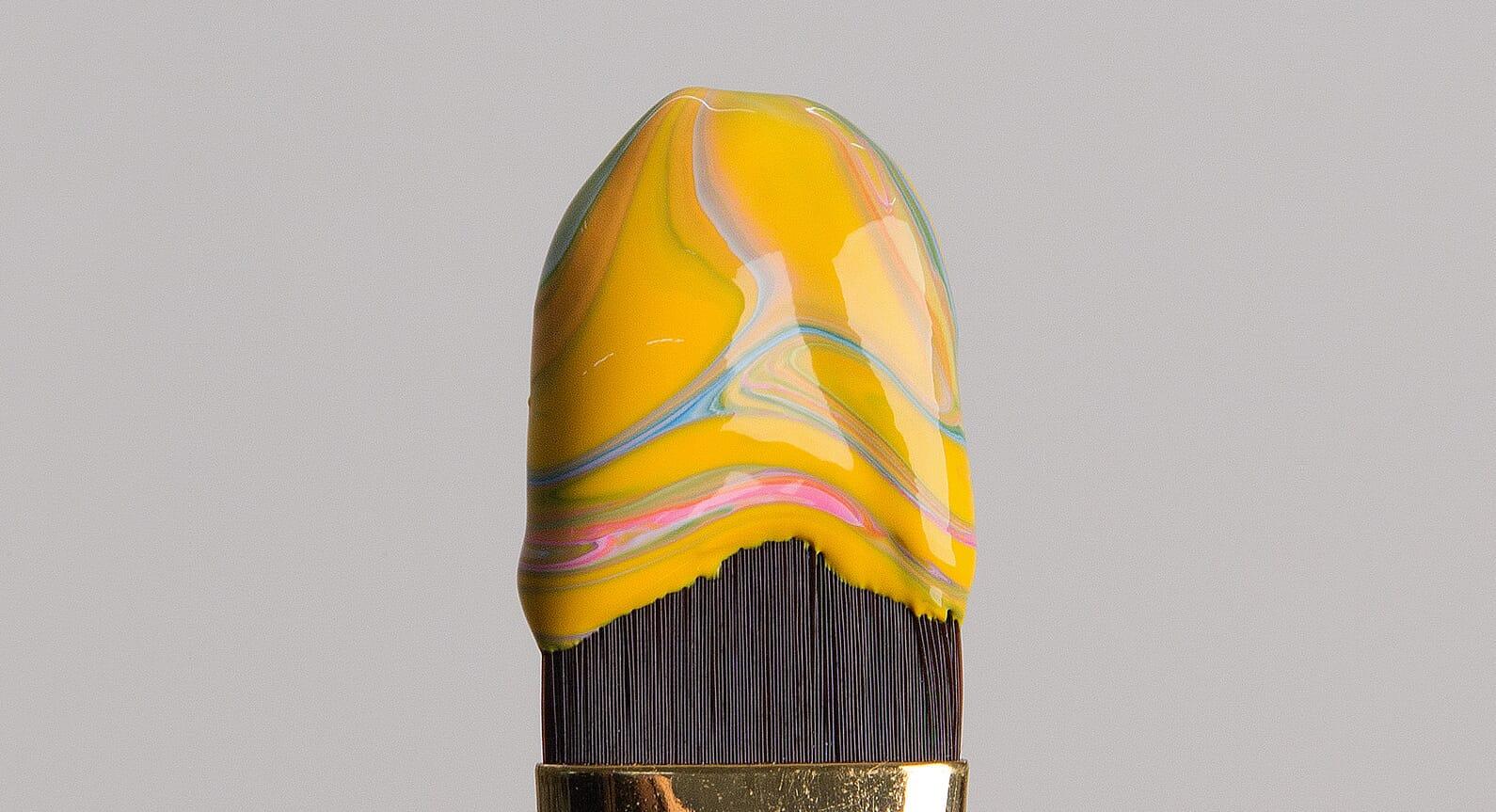 Good Enough To Eat: Ice Cream Paint Brushes By José Lourenço