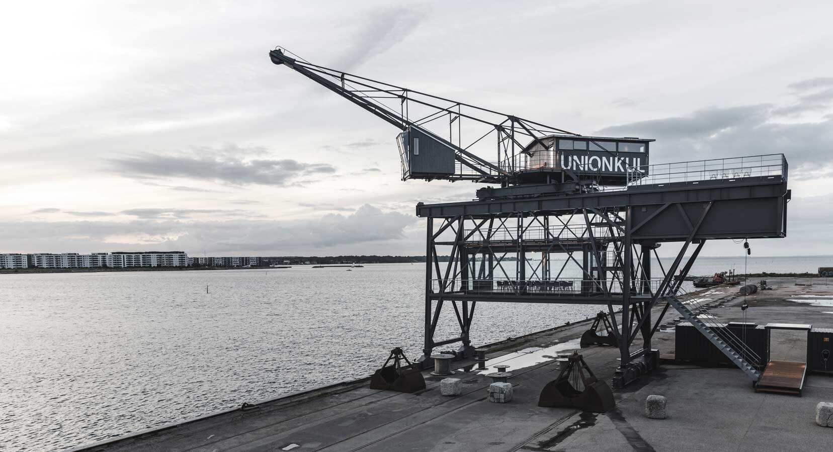 Arcgency Transforms Former Copenhagen Coal Crane Into A Private Retreat