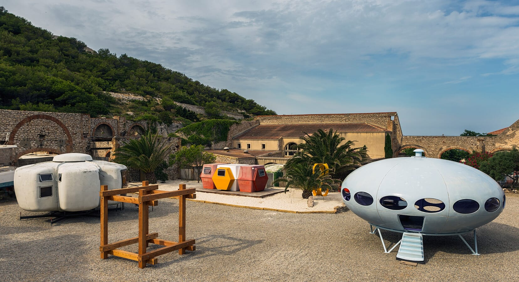 Futuristic Micro-Homes Land in Marseille For 'Utopie Plastic' Exhibition