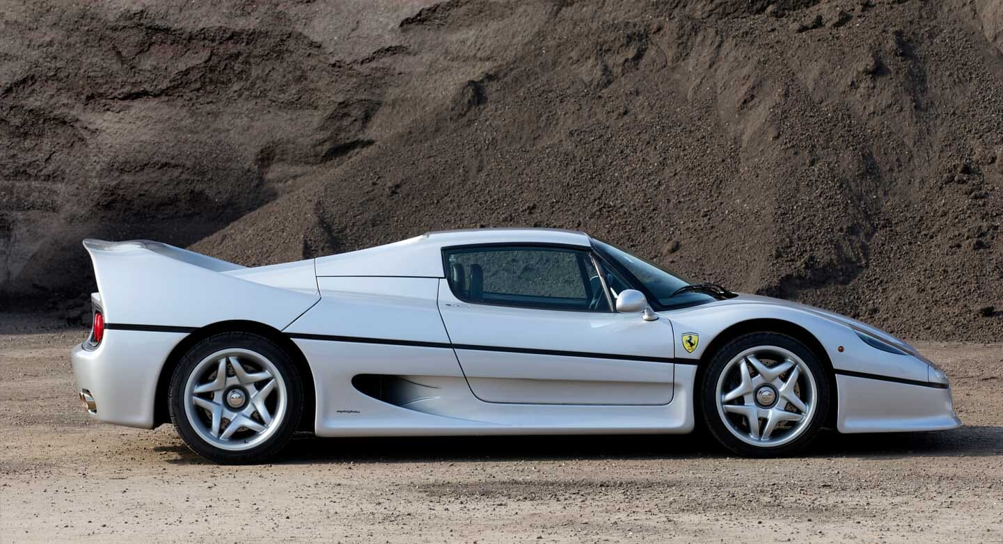 Is This The World's Finest Ferrari F50 Argento?
