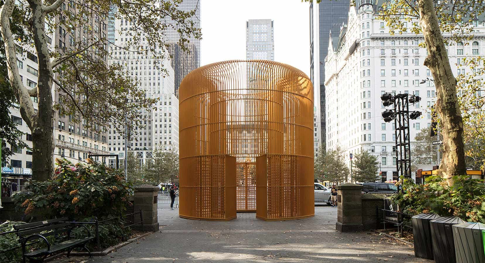 Ai Weiwei Launches 'Good Fences Make Good Neighbours' in NYC
