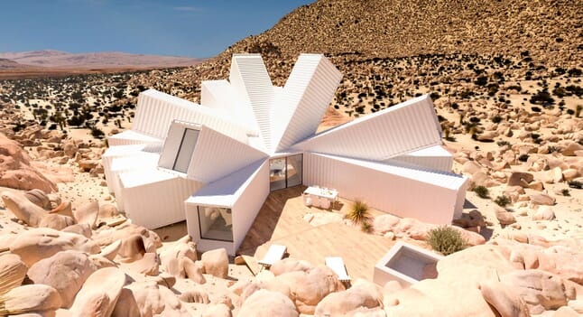 Joshua Tree Residence: Shipping container architecture at its best
