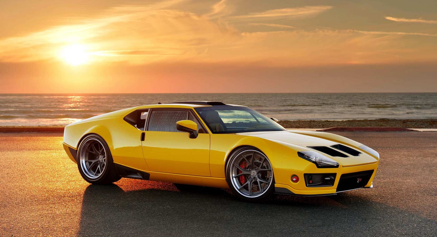 Ringbrothers & Nike Update De Tomaso Pantera, The Car That Elvis Shot