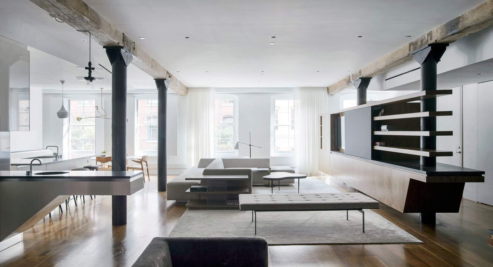 Office Of Architecture Create a New Idea of Loft Living