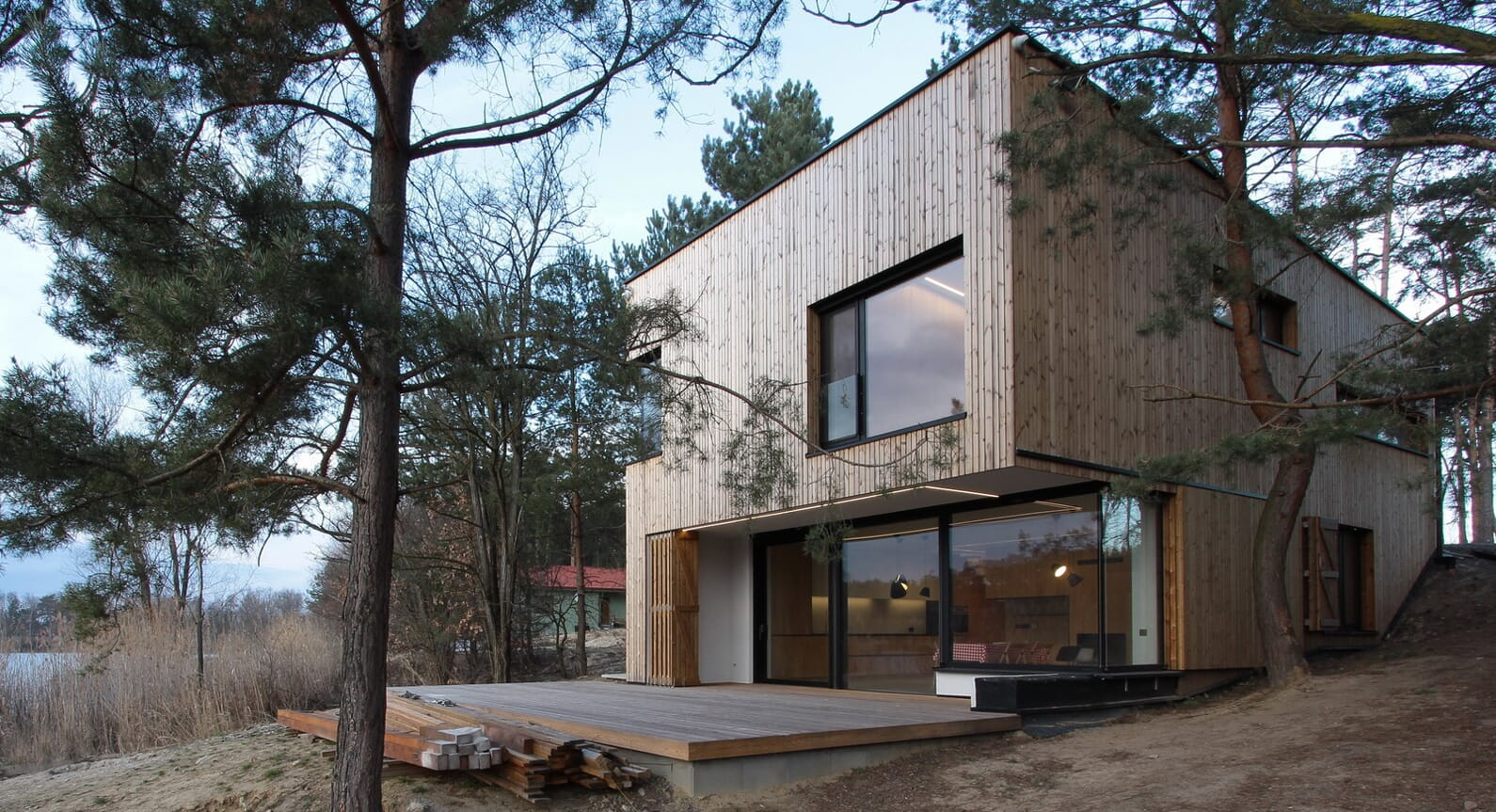 Opening The Shutters On Weekend House PS, Where Modernism Meets The Forest