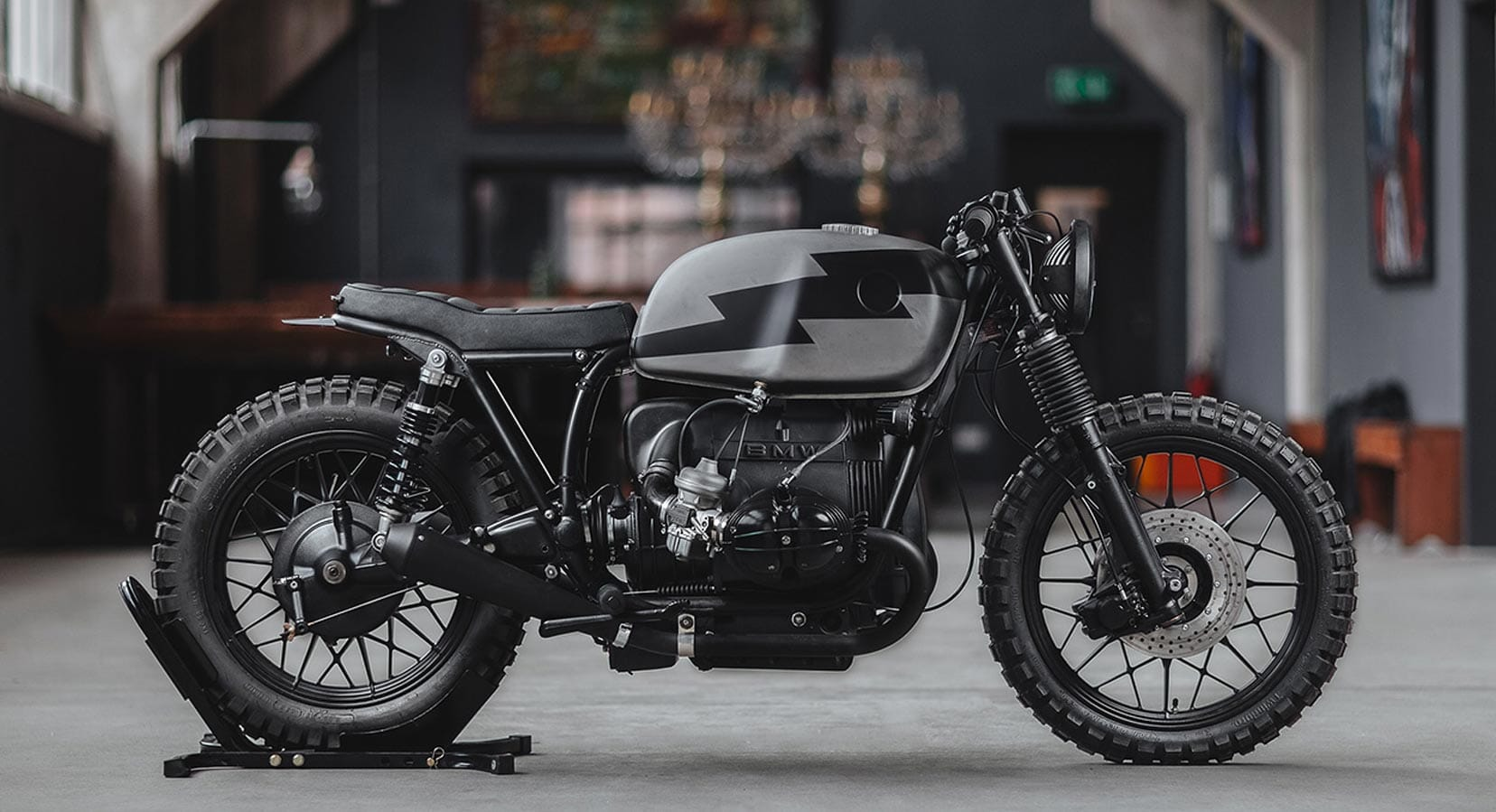 This Hookie Co. BMW R100 Is Ready To Tear Up The Alpine Trails