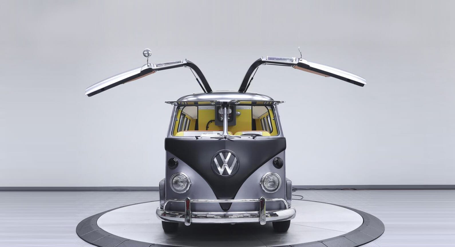 Go 'Back To The Future' In This Fully Restored 1967 VW Bus
