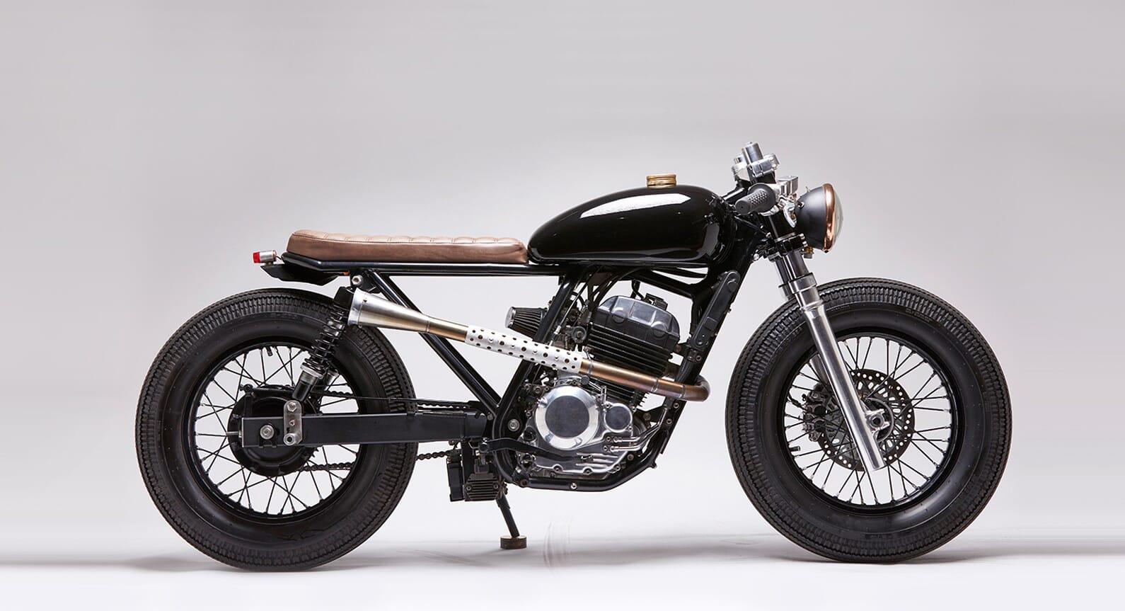The Honda Tornado Café Racer By Vida Bandida Motorcycles