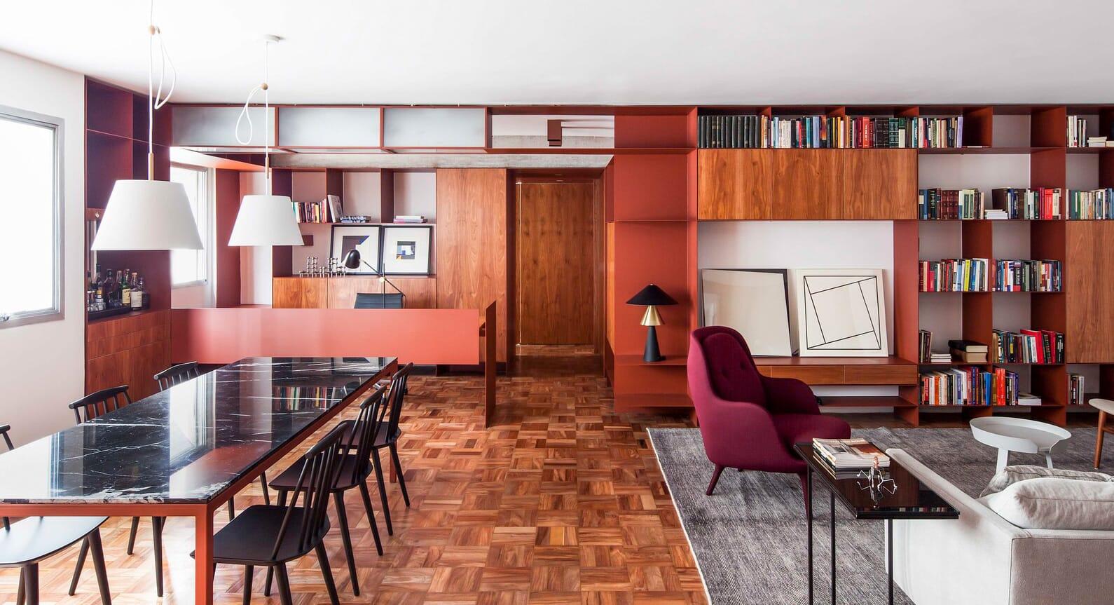A City Centre Apartment Is Transformed By AR Arquitetos