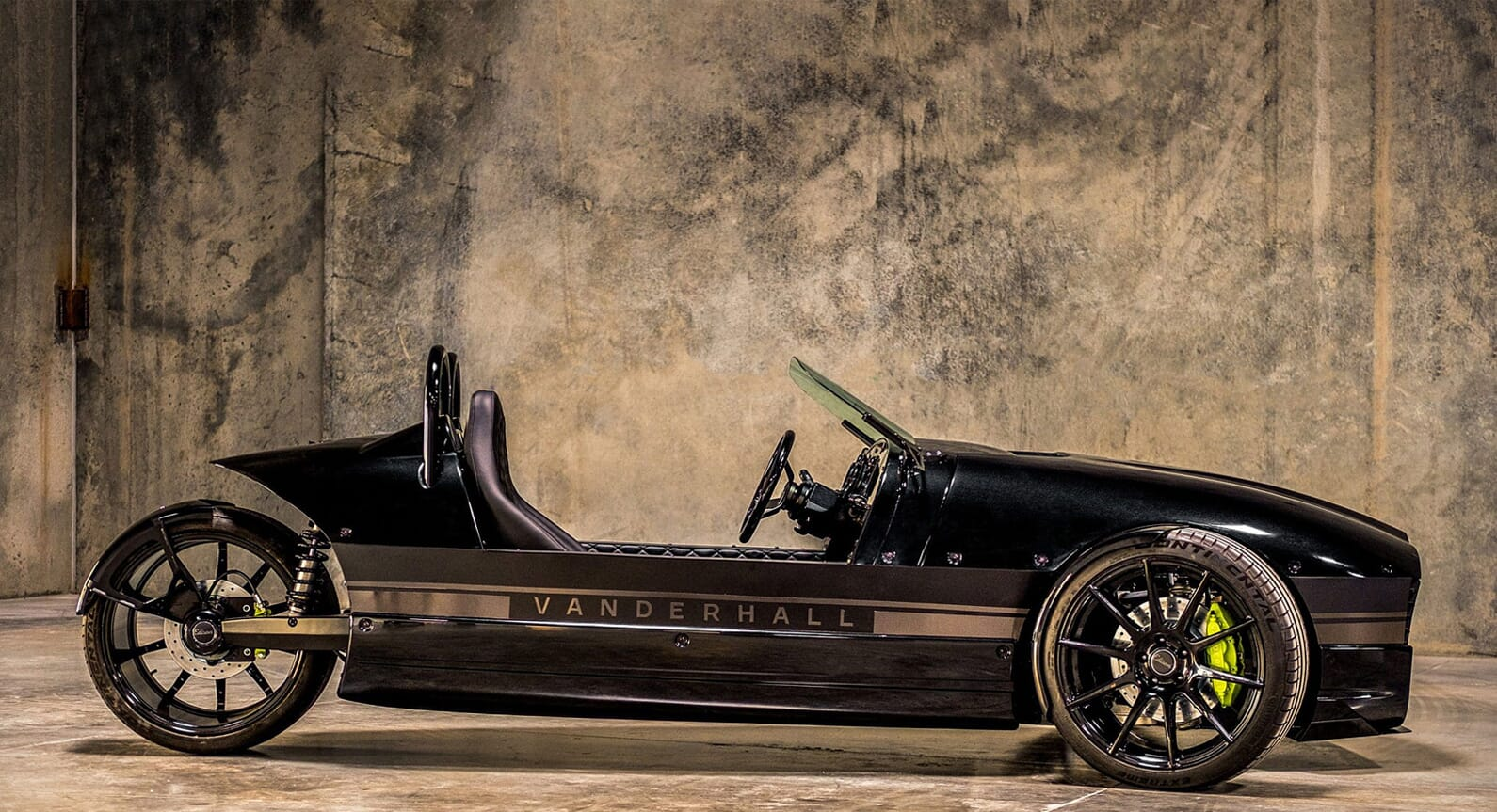 The Vanderhall Edison 3-Wheeler Capable Of 0-60 In 4 Seconds