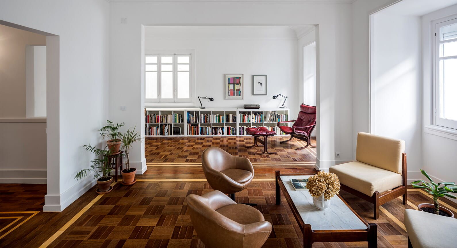 How Parquet Flooring Transformed This Lisbon Apartment
