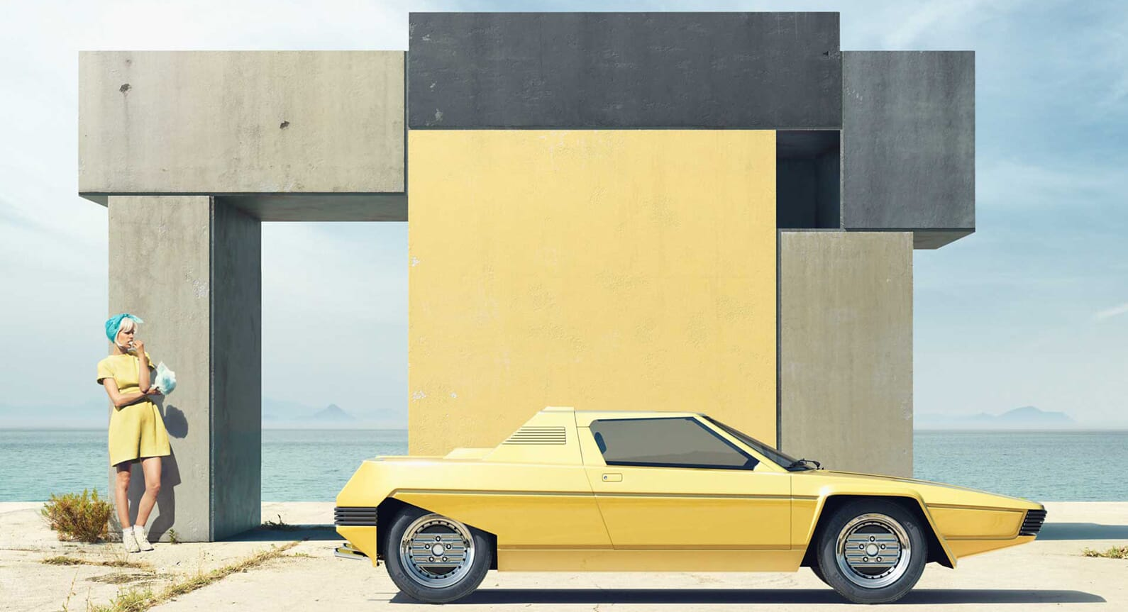 'Of Rainbows And Other Monuments' by Clemens Ascher