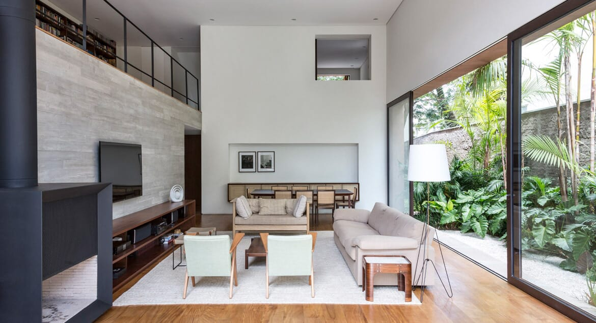 The Pinheiros House Is As Good As City Living Gets