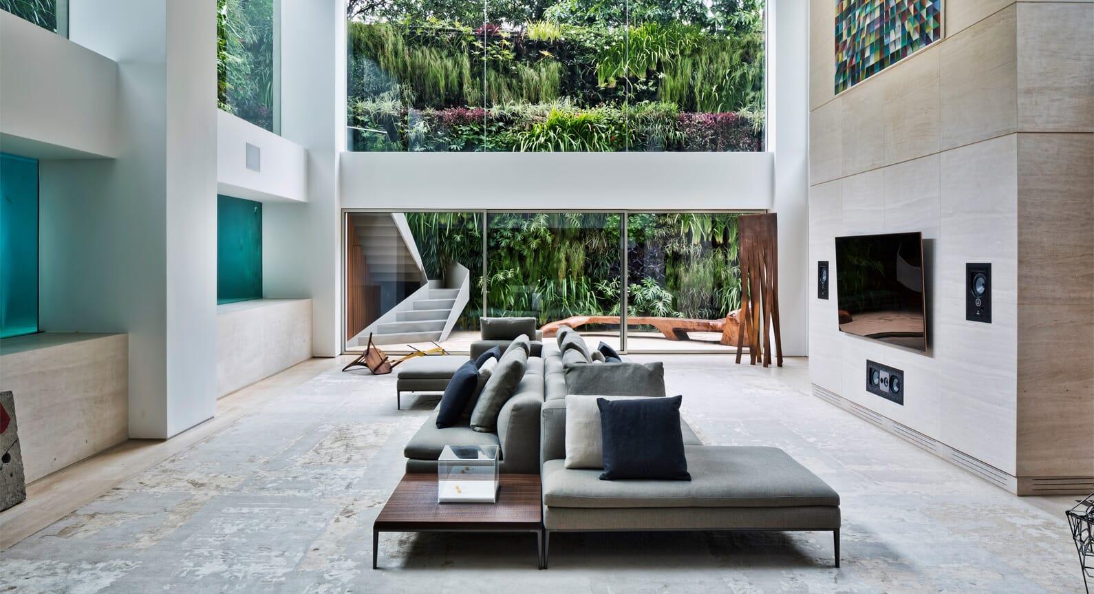 Fernanda Marques Installs A Swimming Pool Into A Brazilian Apartment