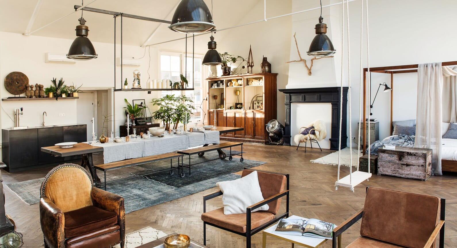 Six Ways To Get The Luxury Loft Look