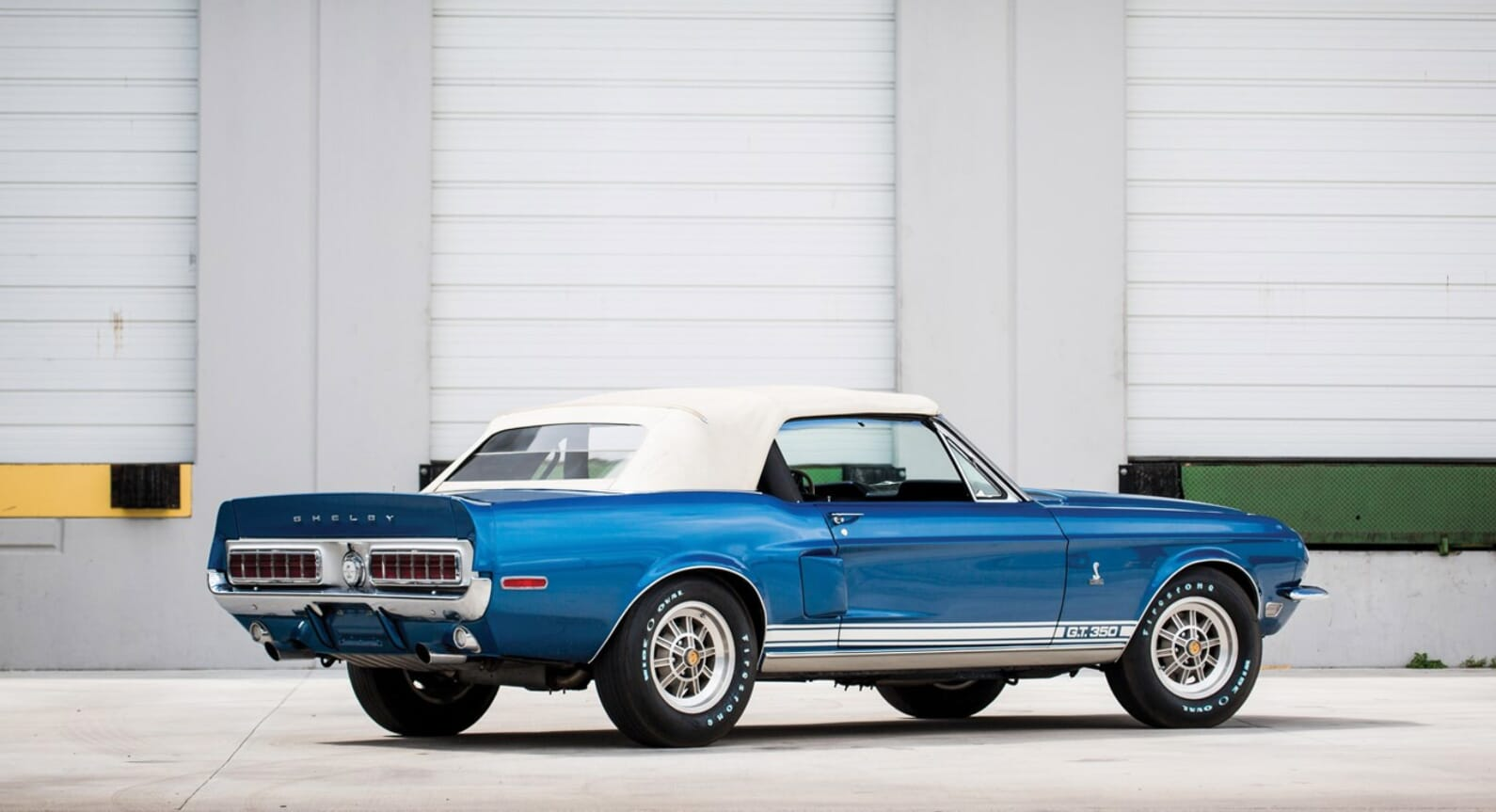There's More Than Meets The Eye To This Shelby GT350 Convertible