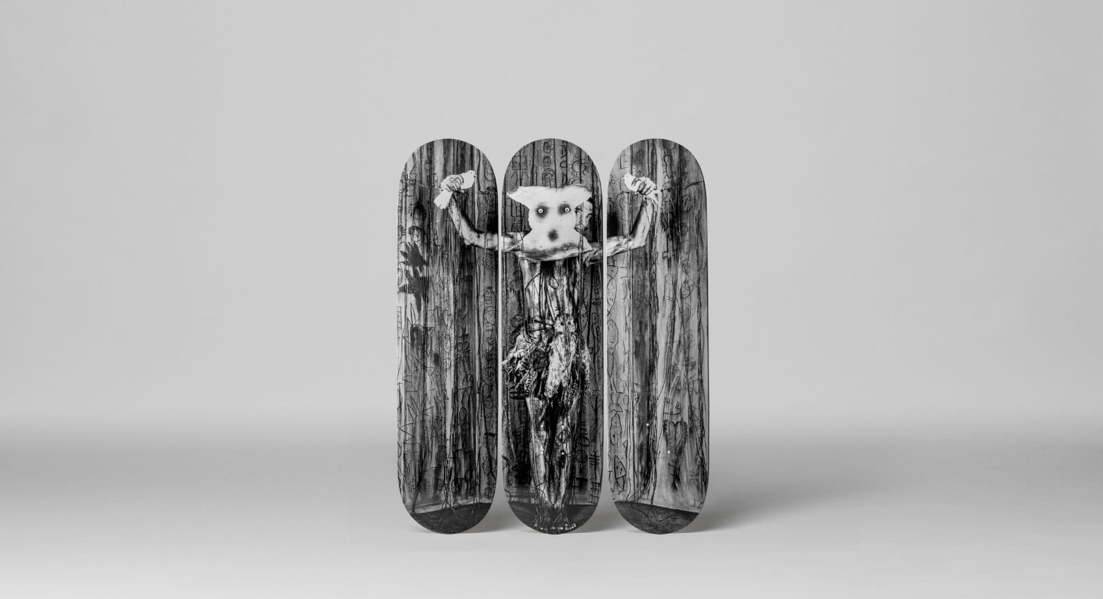 The Skateroom and Roger Ballen Team Up For New Skateboard Collaboration