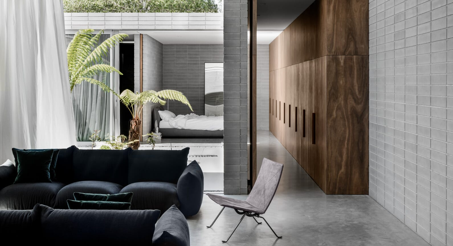 Ritz & Ghougassian's Melbourne Home Is As Good As City Living Gets