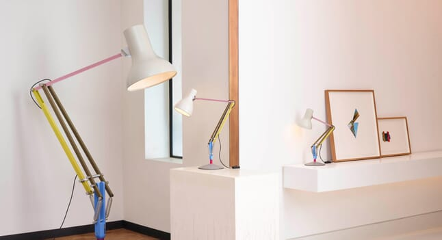 The Anglepoise x Paul Smith Type 75 Lamps Have Arrived At OPUMO