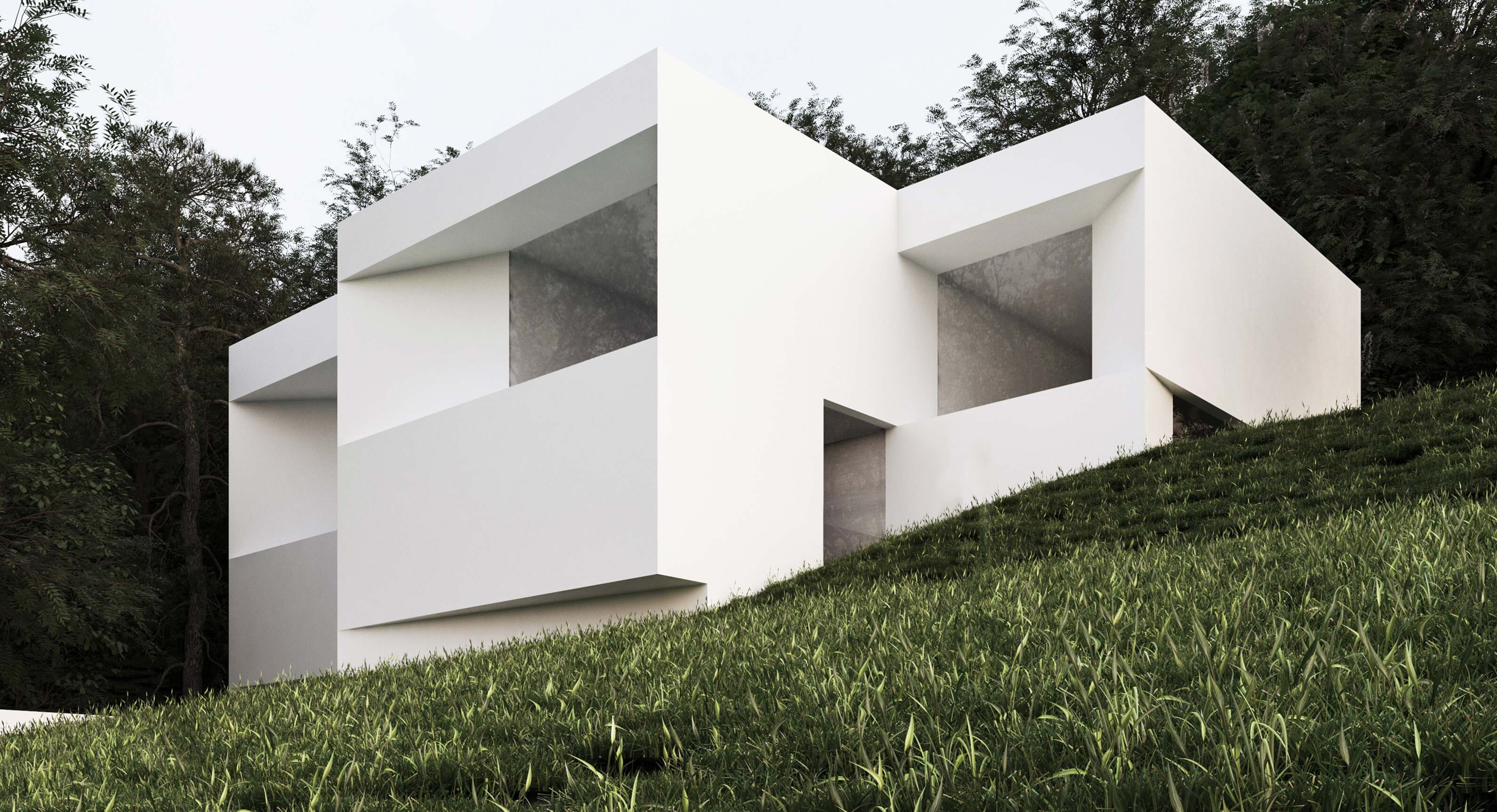 The 'House Between The Pines' By Fran Silvestre Arquitectos