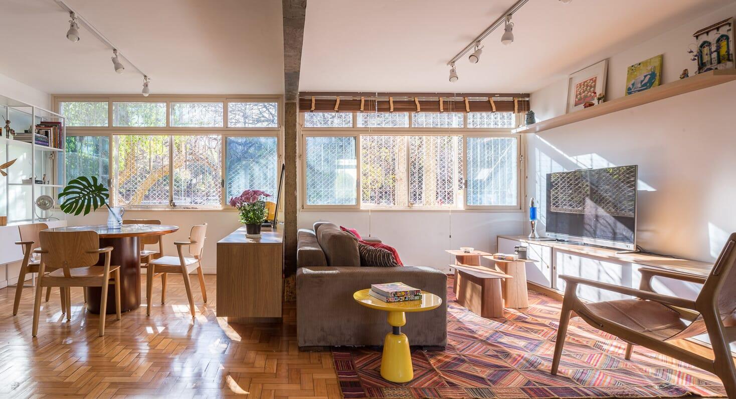Modernism Meets Nostalgia In This Tiny Brasilia Apartment