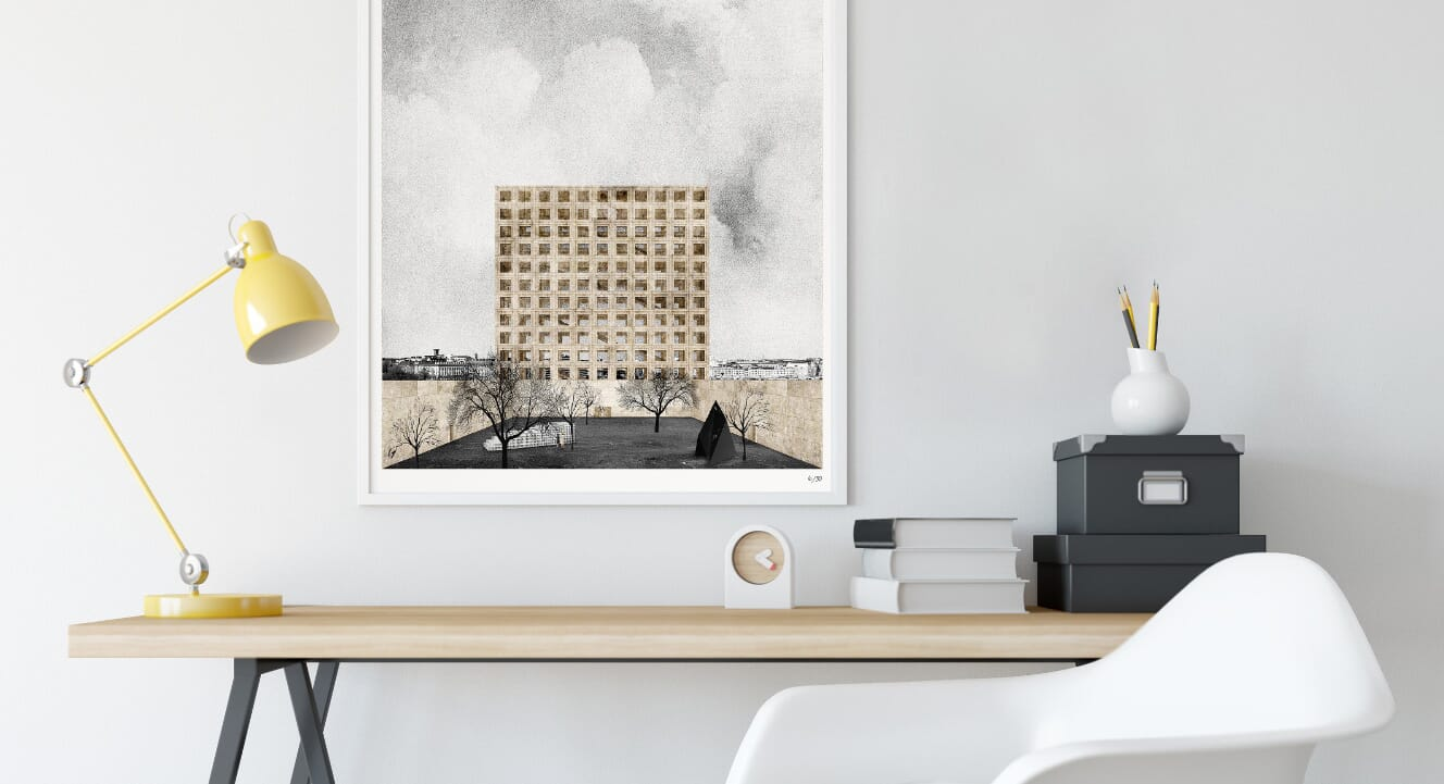 3 architectural prints for your home office
