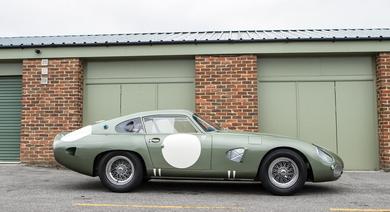 This Unique 1963 Aston Martin DP215 Grand Tourer Is Set To Sell For £19 Million
