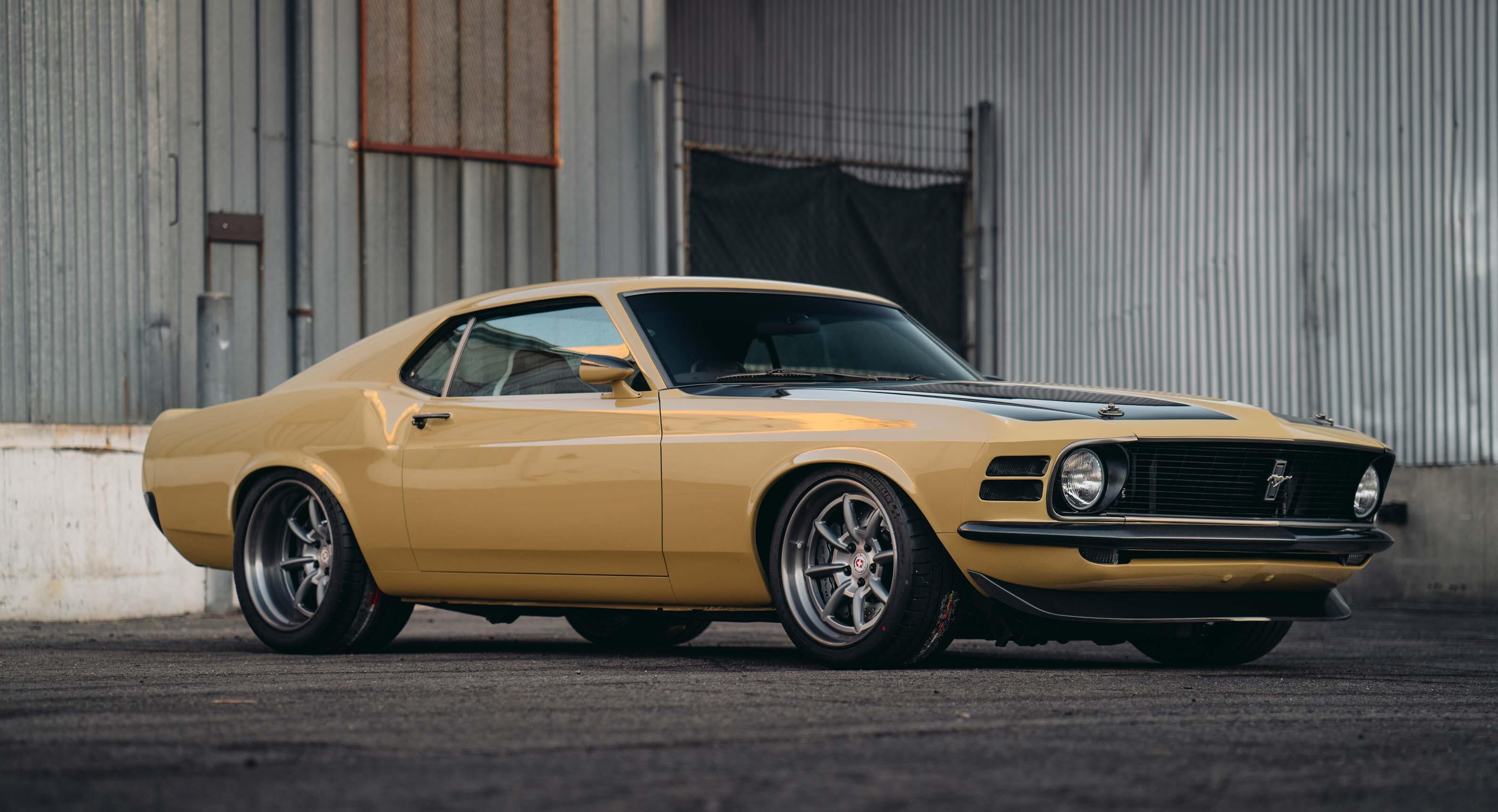 Check Out Robert Downey Jr.'s Custom Superhero 1970 Ford Mustang