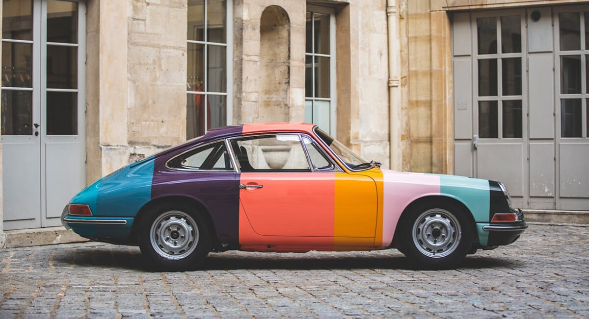 This 1965 Porsche 911 Has Been Made Over In Paul Smith Stripes
